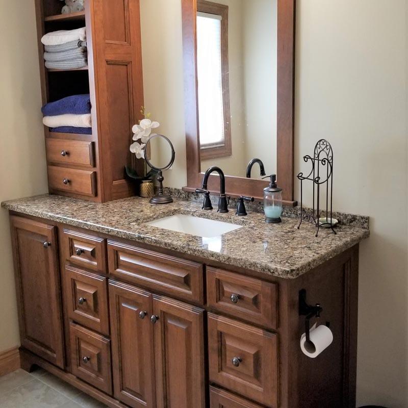 Bathroom Countertops Custom Granite Quartz Counters Lansing Mi