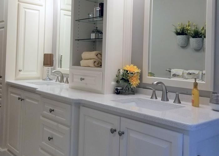 Bathroom Countertops Custom Granite Quartz Counters