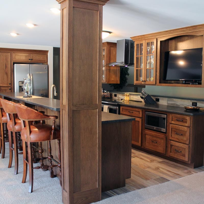 Custom Kitchen Cabinet Contractors Lansing, MI