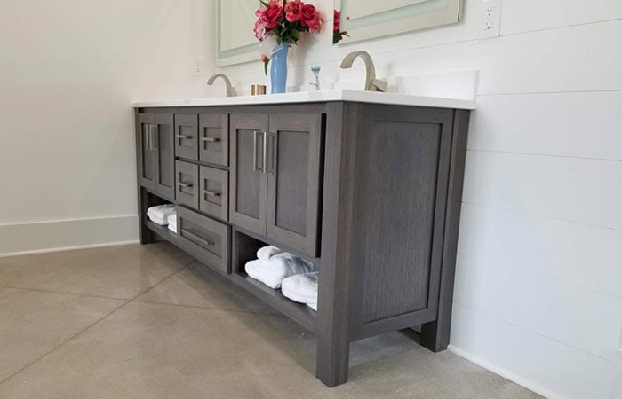 bathroom cabinets versus kitchen cabinets