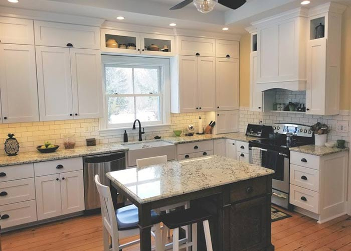 pick kitchen color lansing mi