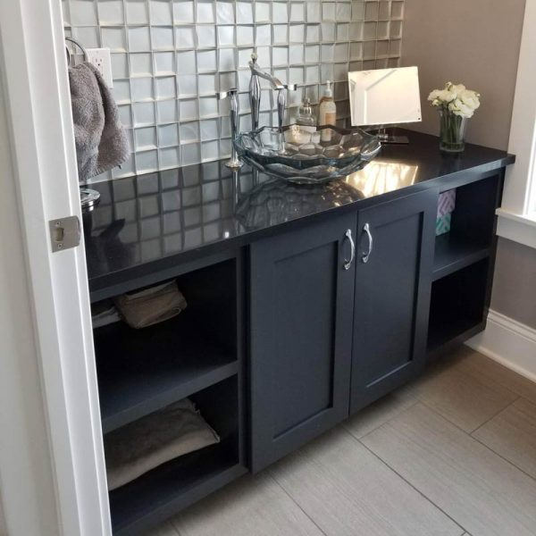 Custom Bathroom Cabinet Makers Custom Woodworking Lansing Mi