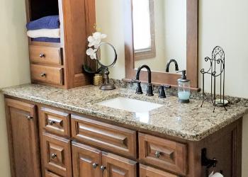 type bathroom countertop Greater Lansing MI